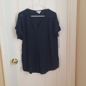 Great l new blouse  without tags. Navy